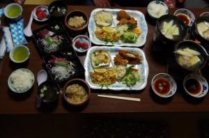 合宿場所の食事