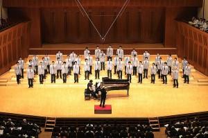 単独ステージ『男声合唱とピアノ(四手)のための「遊星ひとつ」』
