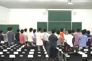 山脇先生による練習の様子