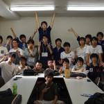 ワグネル一年生+3年学指揮平田さんの集合写真です! これからよろしくお願いします!